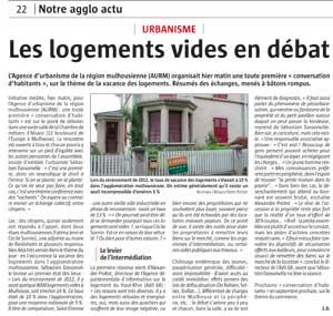 L'Alsace, 24 avril 2016, http://www.lalsace.fr/haut-rhin/2016/04/24/les-logements-vides-en-debat